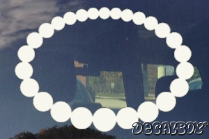 Pearl Necklace Decal