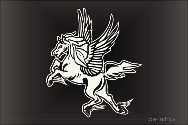 Pegasus 7789 Car Window Decal