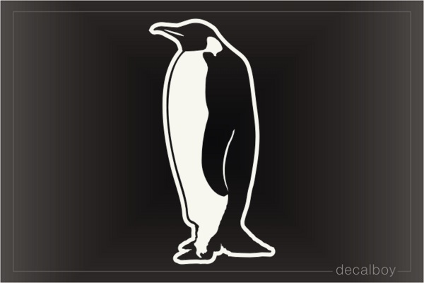 Penguin Mom Decal