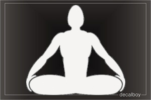 Raja Yoga Car Window Decal
