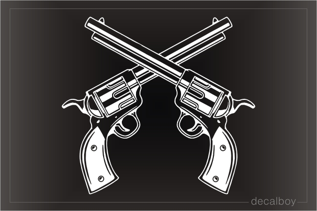 Revolvers Crossing Decal