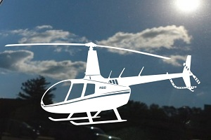 Robinson Helicopter Decal