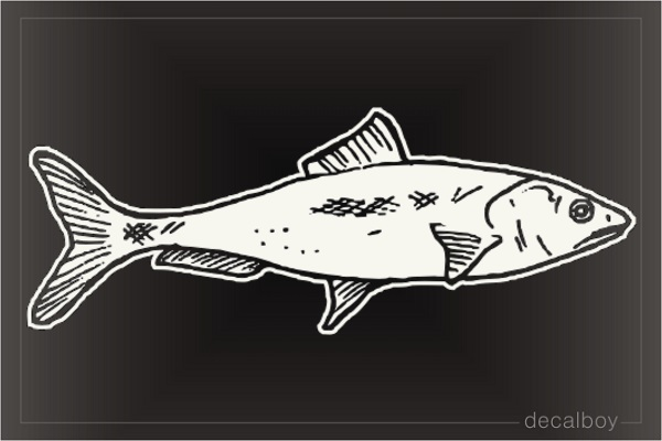 Sardine Window Decal