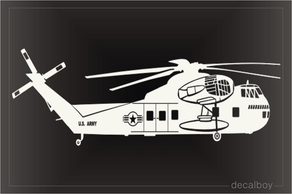 Sikorsky Ch37 Helicopter Decal