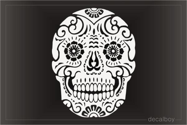Skull Sugar Decal