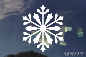 Snowflake Ice Crystal Decal