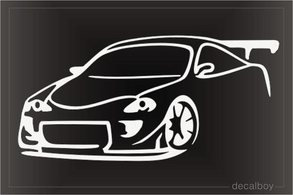 Sport Cars Decals Stickers Decalboy