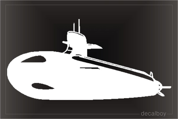 Submarine Car Decal