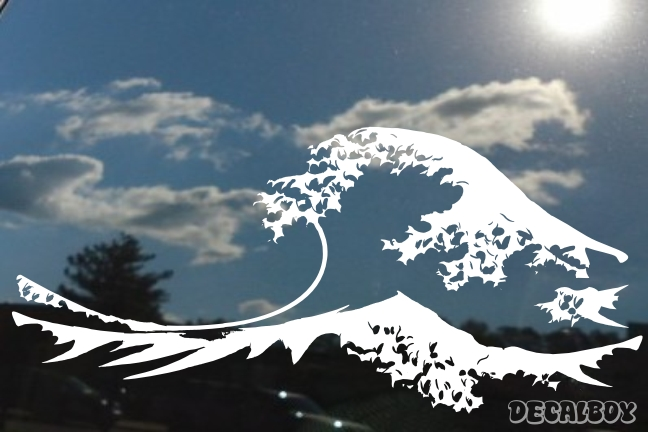 Surface Waves Decal