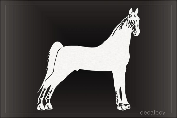 Tennessee Walker Horse Window Decal