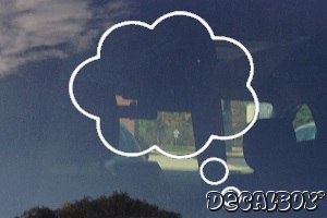 Thought Cloud Decal
