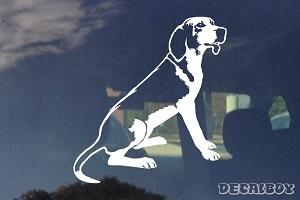 Treeing Walker Coonhound Dog Decal