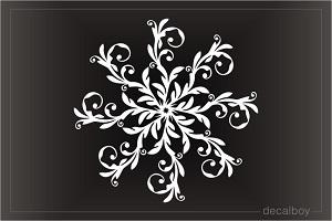Snowflakes Decals Amp Stickers Decalboy