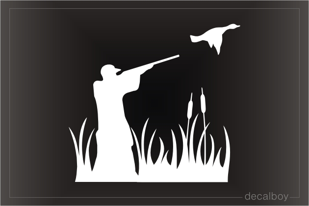 Waterfowl Hunting Decal