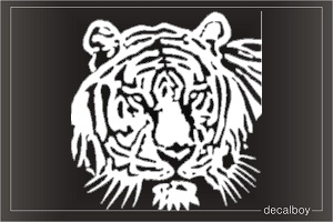 Wild Cat Tiger Window Decal
