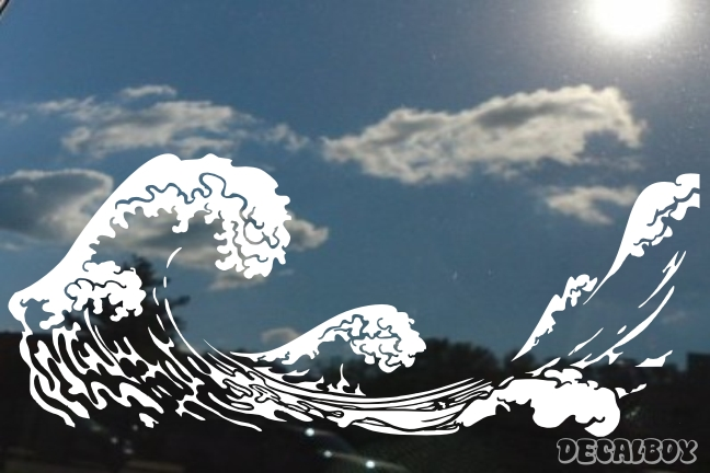 Wild Waves Decal