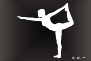 Yoga Balancing Decal