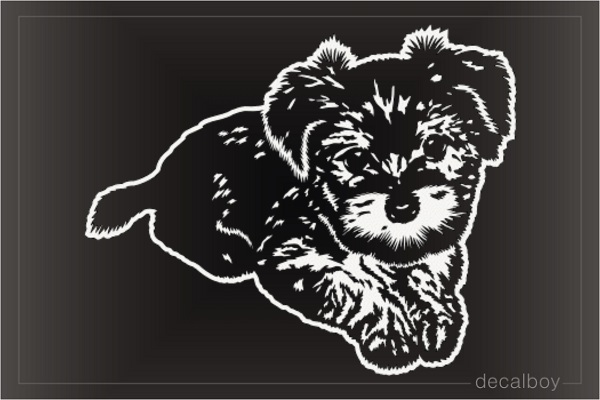 Yorkie Yorkshire Terrier Dog Puppy Decal