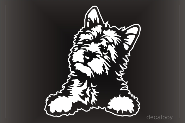 Terrier Decals Amp Stickers Decalboy
