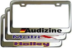 upload logo custom license frame - Mermaid License Plate Frame