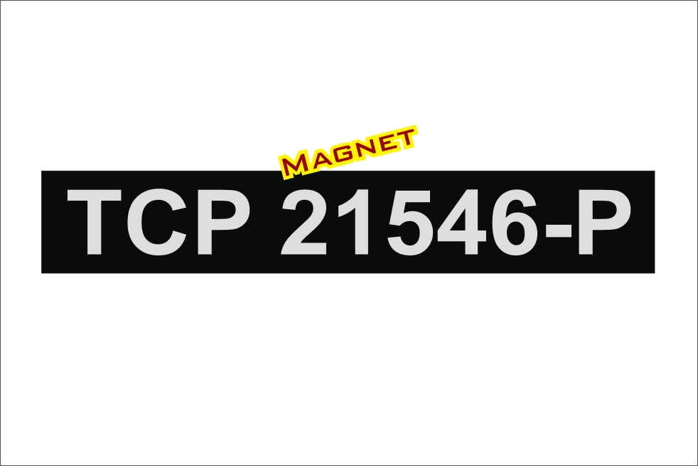 Tcp Magnetic Sign